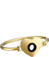 Marc by Marc Jacobs - Round And Round Hole Hearted Hinge Cuff Bracelet