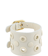 Marc by Marc Jacobs - Large Peephole Leather Bracelet