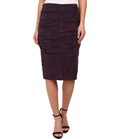 Nicole Miller - Sandy Suede Tucked Skirt