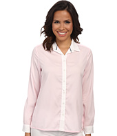U.S. POLO ASSN. - Crepe De Chine Long Sleeve Shirt