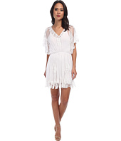 KAS New York - Kayi Embroidered Mesh Dress w/ Slip