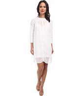 KAS New York - Cutwork Swing Dress