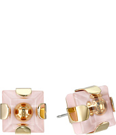 Marc by Marc Jacobs - Kandi Square Studs Earrings