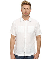 Michael Kors - Linen Two-Pocket S/S Tailored Shirt