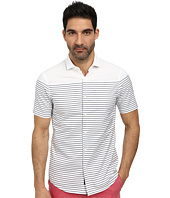 Michael Kors - Fitz Striped S/S Slim Shirt