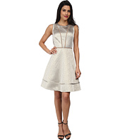 Vince Camuto - Fit and Flare with Banding and Mesh Insets