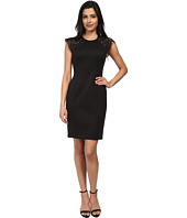 Vince Camuto - Fitted Body Con with Lace Short Sleeves