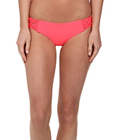 MIKOH SWIMWEAR - Cayman Side Woven Detailed Skimpy Fit Bottom