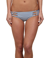 MIKOH SWIMWEAR - Hanalei Cutout Knot Detail Boyshort Bottom
