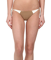 MIKOH SWIMWEAR - Kihei Paneled Detail with Skimpy Cut Tie Side Bottom