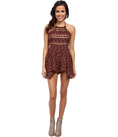 Free People - Open Side Print Romper