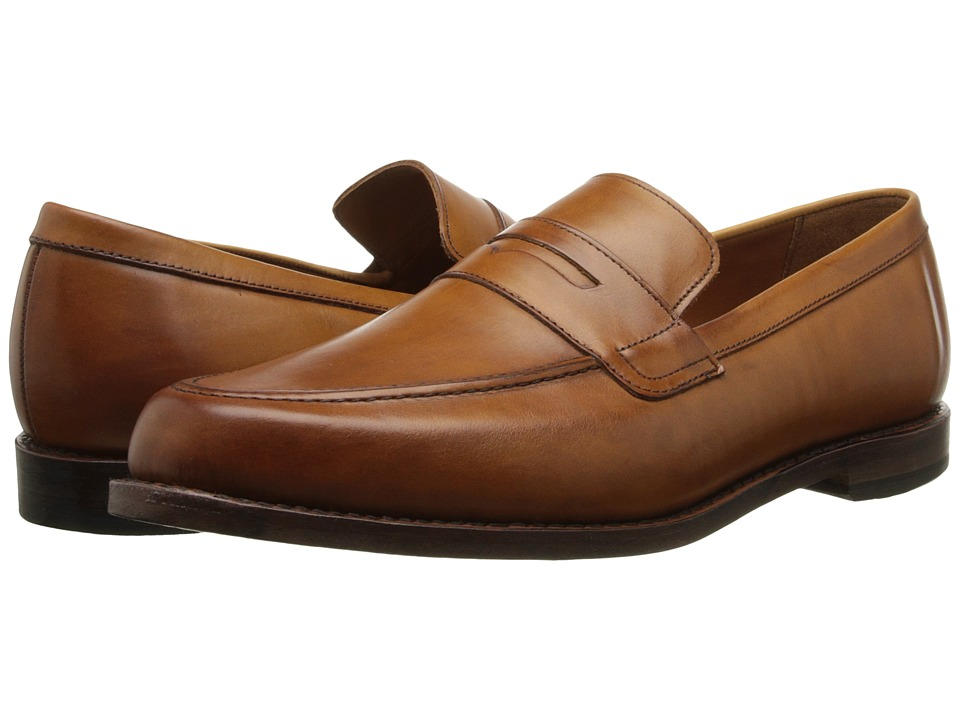 Allen Edmonds Ascher Walnut Burnished Calf Mens Flat Shoes
