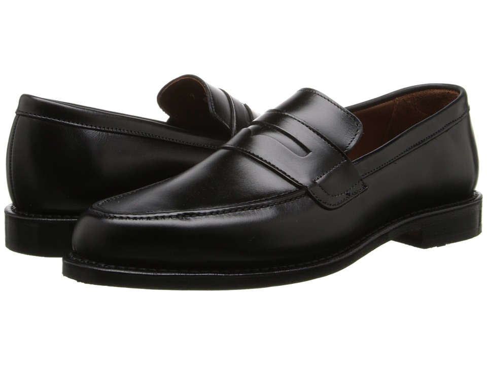 Allen Edmonds Ascher Black Custom Calf Mens Flat Shoes