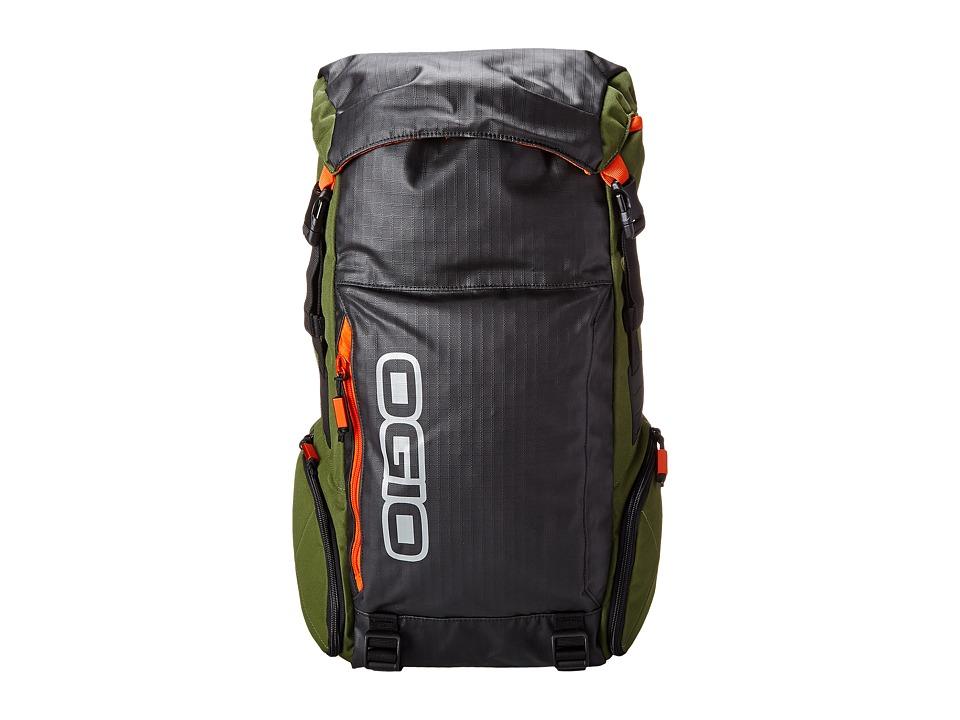 OGIO - Throttle Pack (Green) Backpack Bags