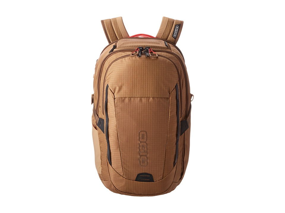 OGIO Ascent Pack Khaki/Red Backpack Bags