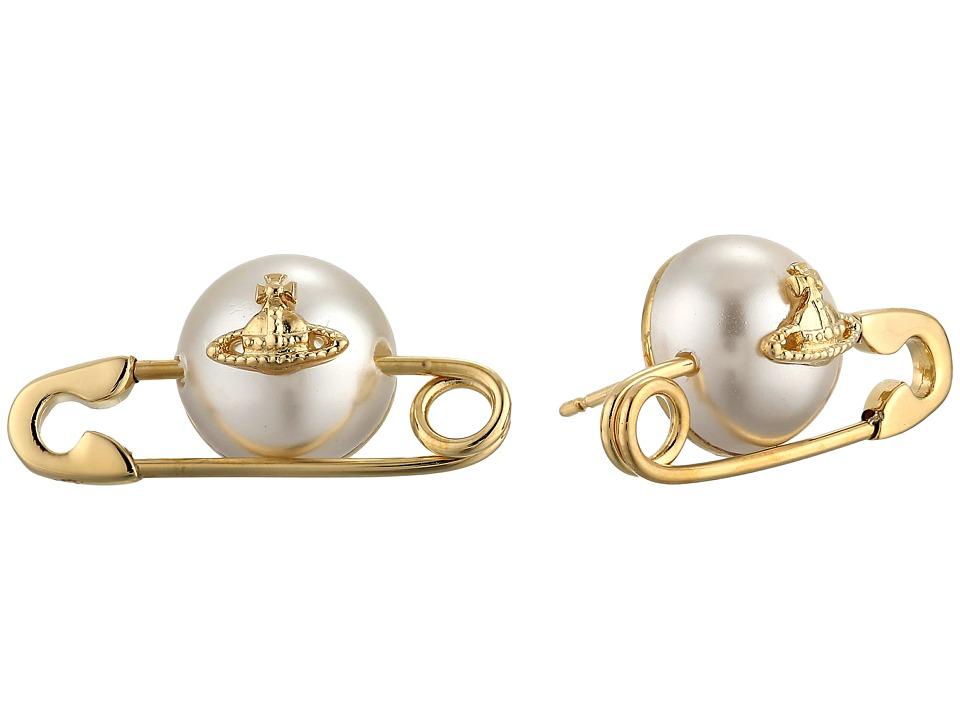 Vivienne Westwood - Jordan Earrings (Pearl 1) Earring