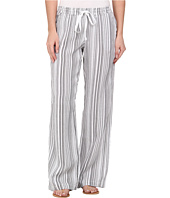 Allen Allen - Stripe Linen Pant