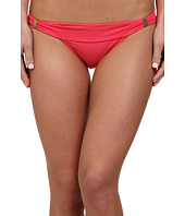 Vix - Sofia by Vix Solid Pink Tie Sash Brazilian Bottom