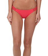 Vix - Sofia by Vix Solid Pink Rio Braided Brazilian Bottom