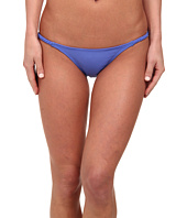 Vix - Sofia by Vix Solid Lake Blue Braided String Brazilian Bottom