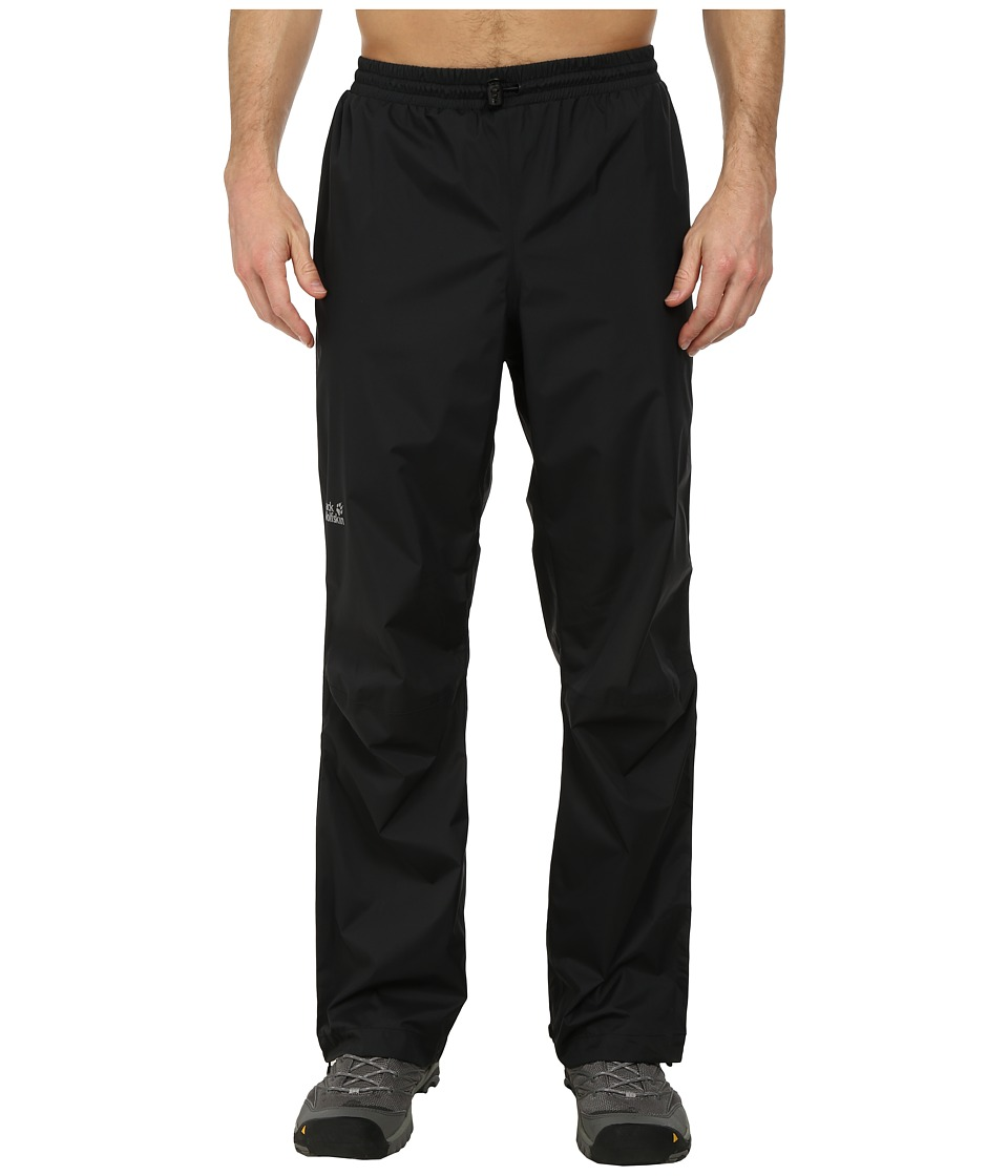 Jack Wolfskin Cloudburst Pants (Black) Men's Casual Pants
