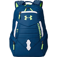 review detail Under Armour UA Quantum Backpack Petrol Blue/White/Hyper Green