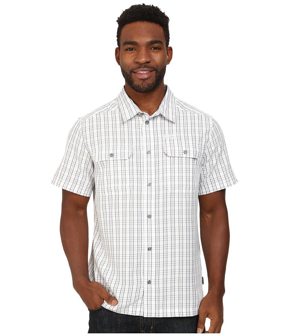 Jack Wolfskin Thompson Shirt White Rush Checks Mens Clothing