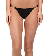 Vix - Solid Black Detail Brazilian Bottom