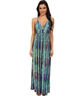 Vix - Stone Alexia Long Dress Cover-Up