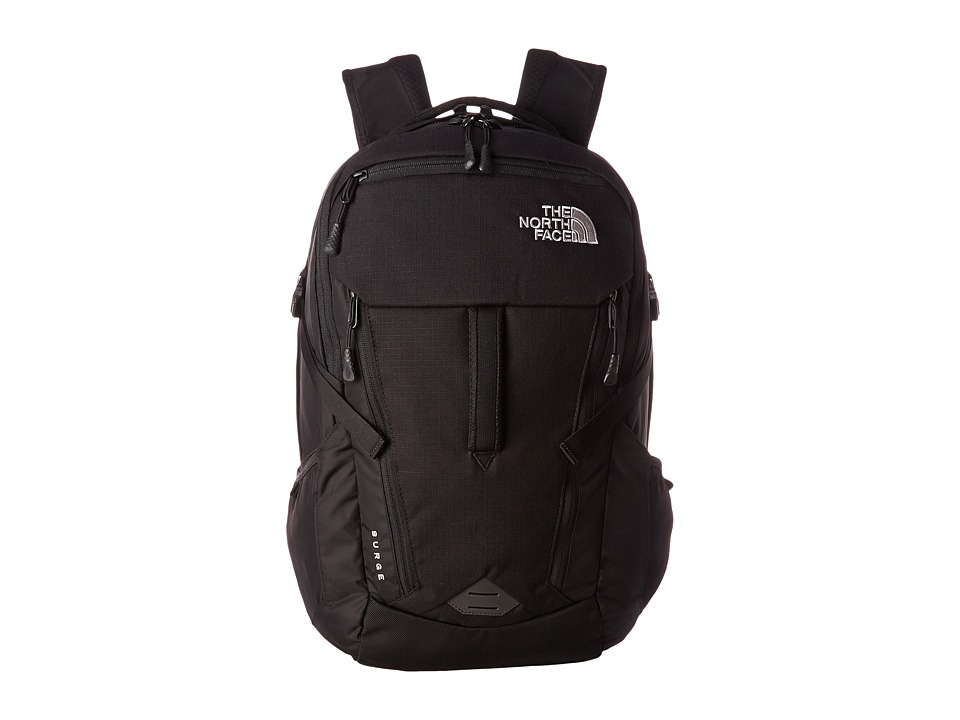 The North Face - Surge (TNF Black) Backpack Bags