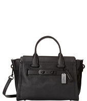 COACH - Pebbled Coach Swagger Carryall