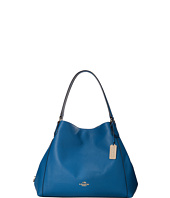 COACH - Refined Pebbled Leather Edie