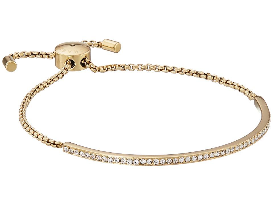 Michael Kors Brilliance Pave Bar Slider Bracelet Gold Bracelet