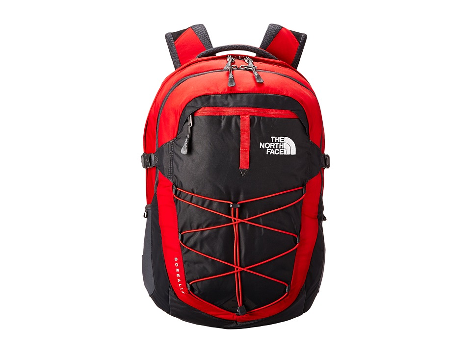 The North Face - Borealis (TNF Red/Asphalt Grey) Backpack Bags