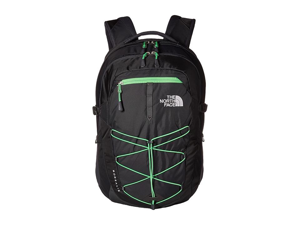 The North Face - Borealis (Alphalt Grey/Krypton Green) Backpack Bags