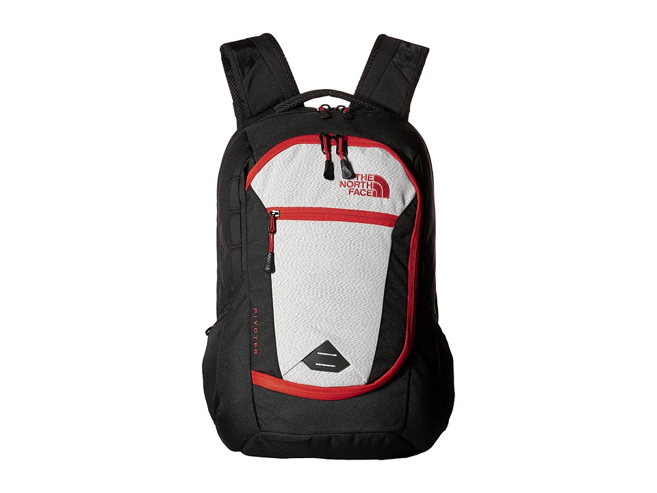 The North Face - Pivoter (TNF Black/Fiery Red) Backpack Bags