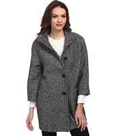 Nicole Miller - Tweed Cocoon Coat