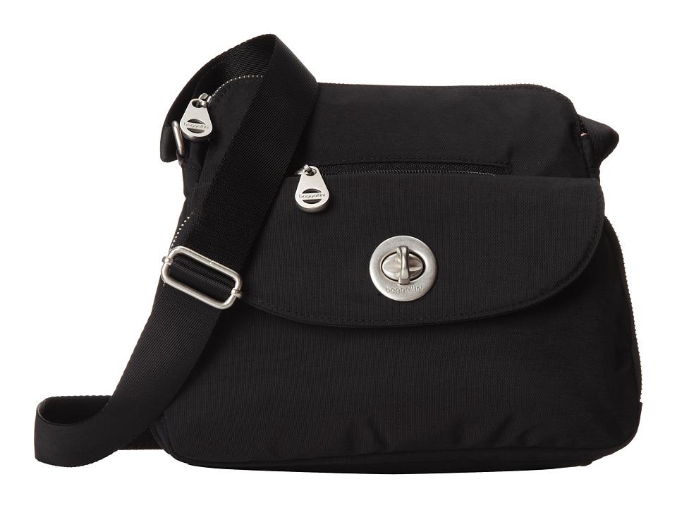 Baggallini - Provence Crossbody (Black/Sand) Cross Body Handbags