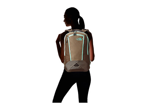 The North Face Women's Microbyte Brindle Brown/Surf Green ...