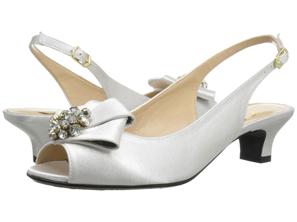 J. Renee - Jadan Ivory Womens 1-2 inch heel Shoes $104.95 AT vintagedancer.com