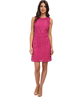 Adrianna Papell - Lace Combo A-Line Dress