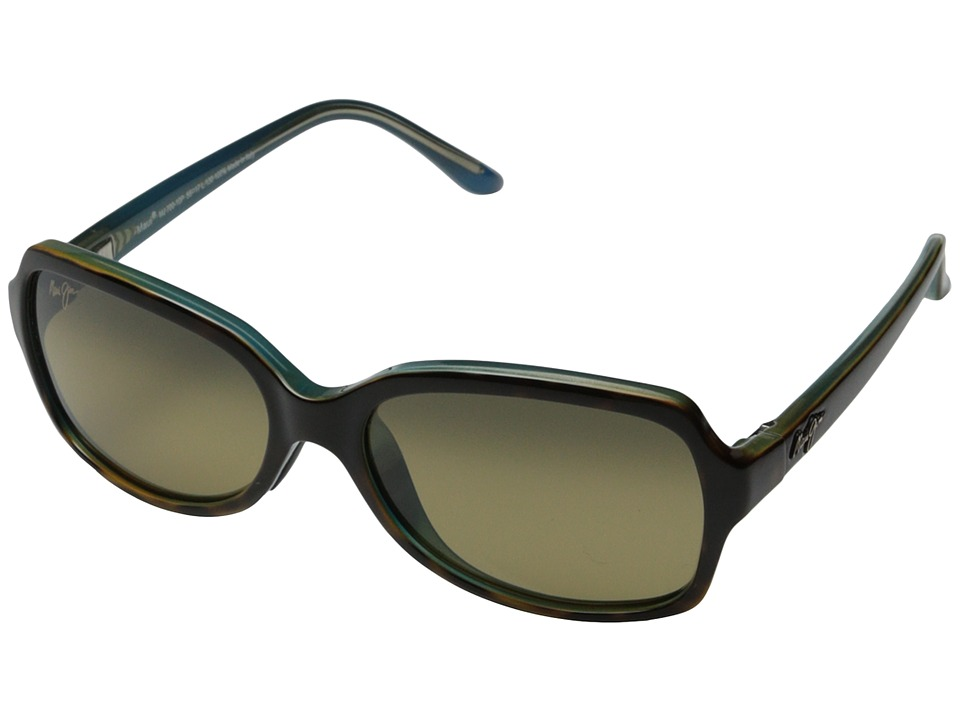 Maui Jim Cloud Break (Tortoise/Peacock Blue/HCL Bronze) F...