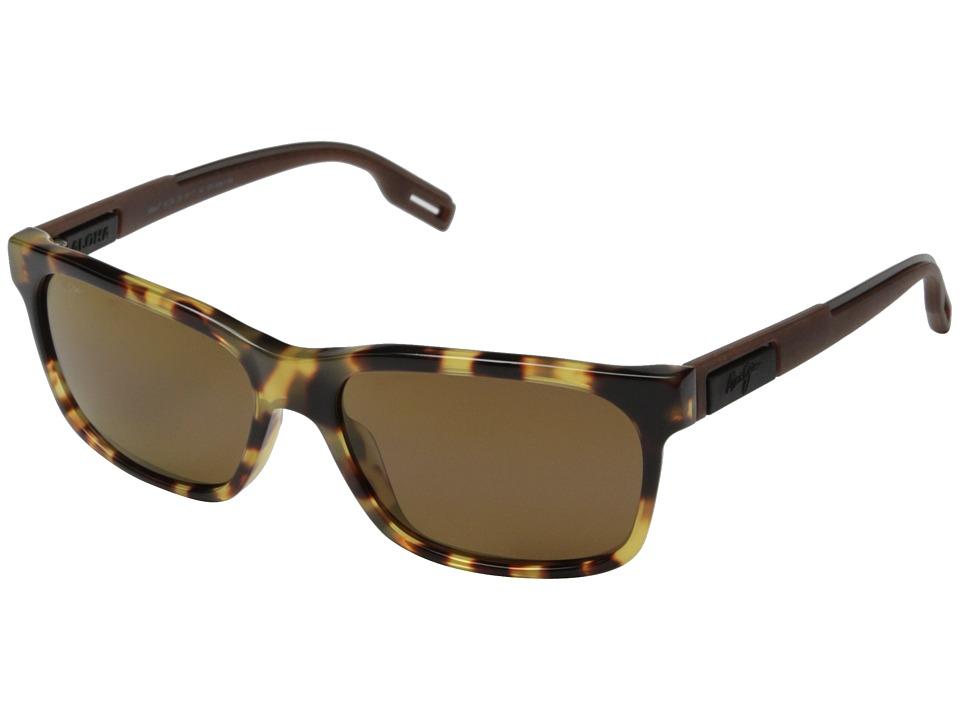 Maui Jim Eh Brah Tokyo Tortoise/HCL Bronze Fashion Sunglasses