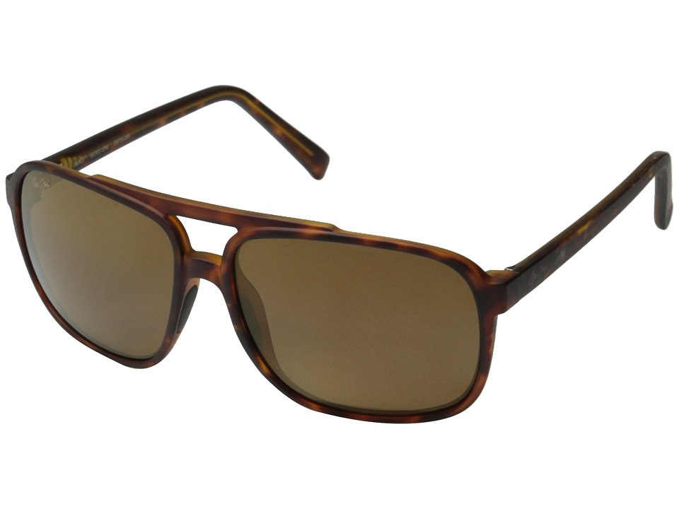 Maui Jim Silversword Matte Tortoise/HCL Bronze Fashion Sunglasses
