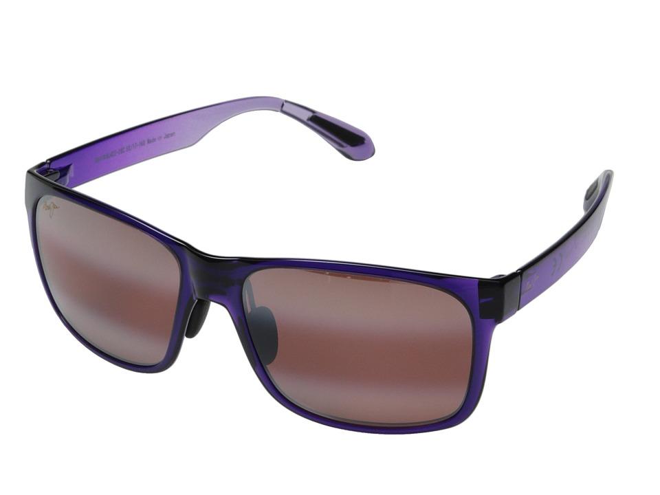 Maui Jim Red Sands (Purple Fade/Maui Rose) Fashion Sunglasses