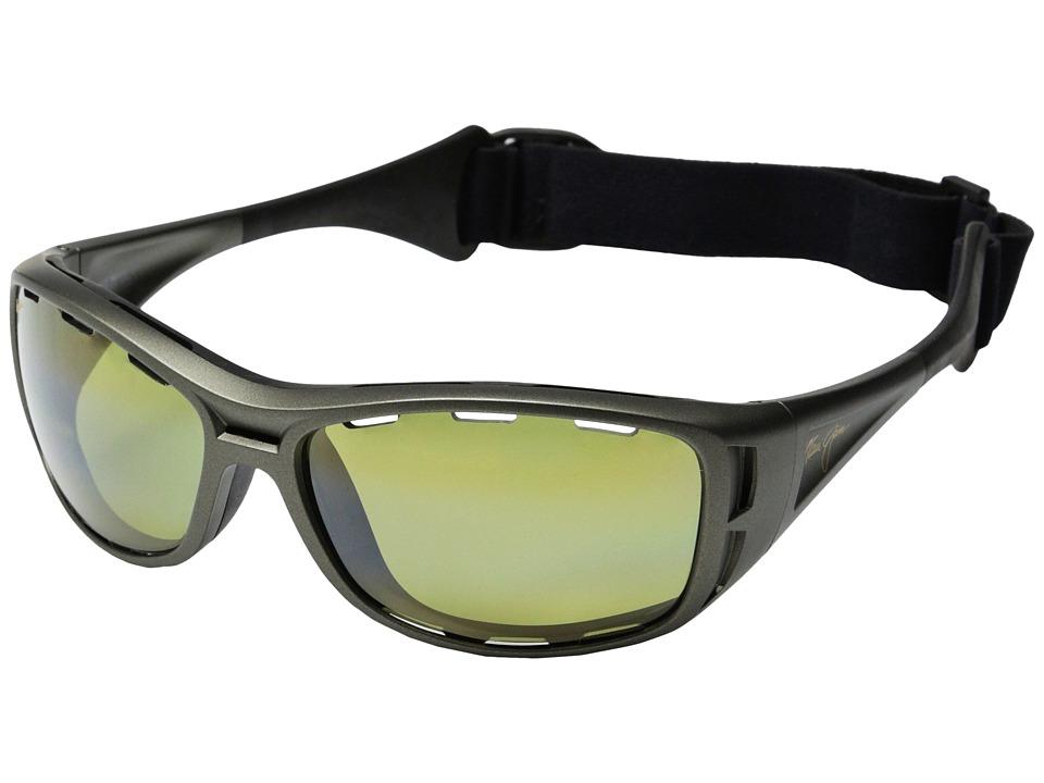Maui Jim Waterman (Titanium/Maui HT) Fashion Sunglasses