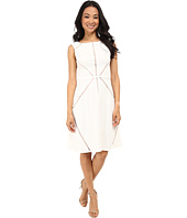Adrianna Papell - Fit & Flare Splice Dress