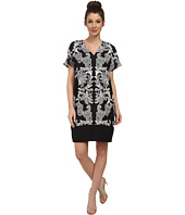 Adrianna Papell - Contrast Printed Front T-Shirt