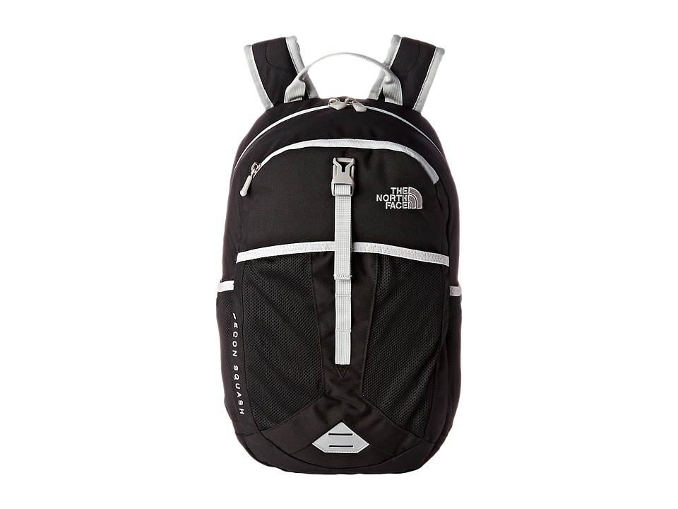The North Face - Recon Squash (Big Kid) (TNF Black/High Rise Grey) Backpack Bags