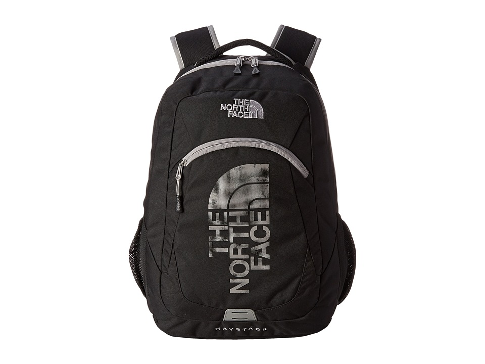 The North Face - Haystack (TNF Black/Metallic Silver) Backpack Bags
